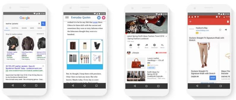 dinaminiai skelbimai elektroninems parduotuvems google adwords